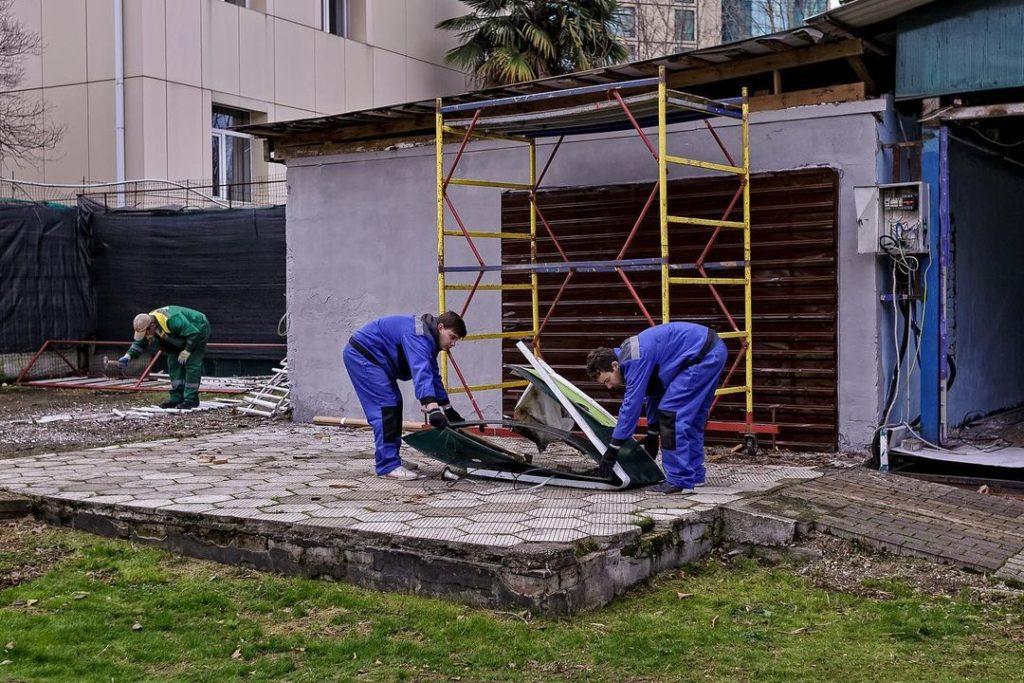 Реставрация территории заброшенного «Луна-парка»