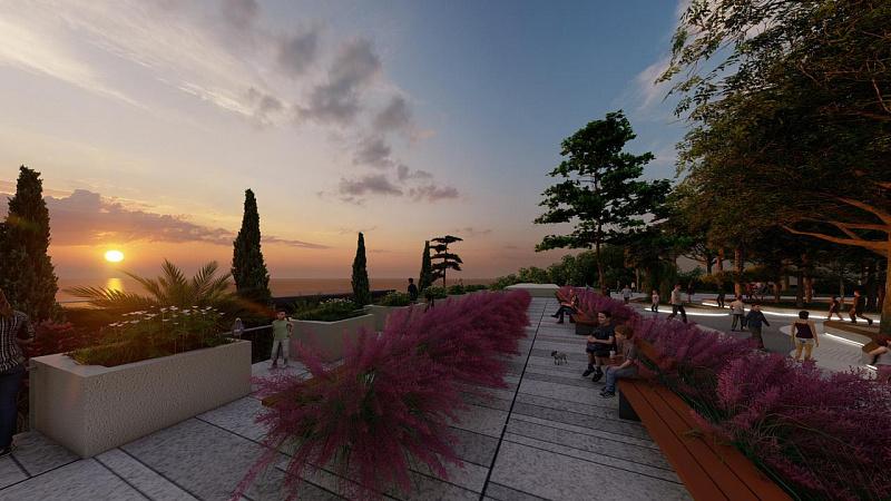 Второй этап реконструкции набережной Ривьера