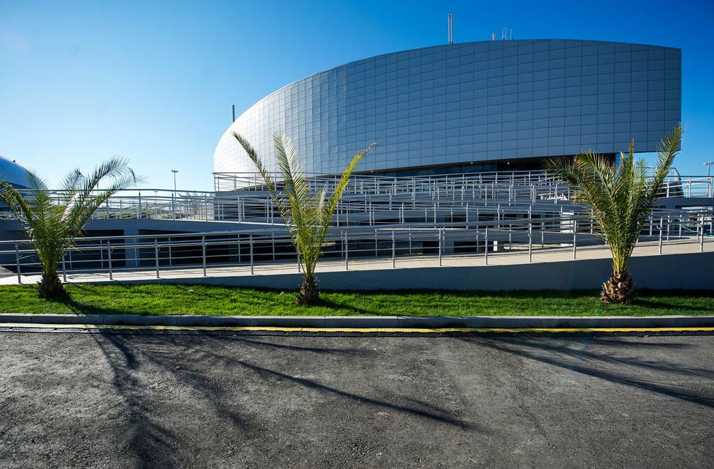 Проект «Центра проведения соревнований «Академия единоборств»