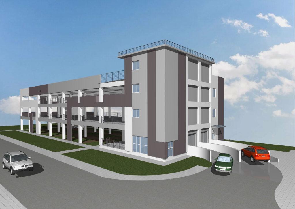 В Лазаревском районе Сочи появится многоэтажный паркинг