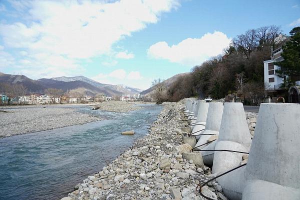 В Сочи проведут работы по расчистке русла реки Псезуапсе