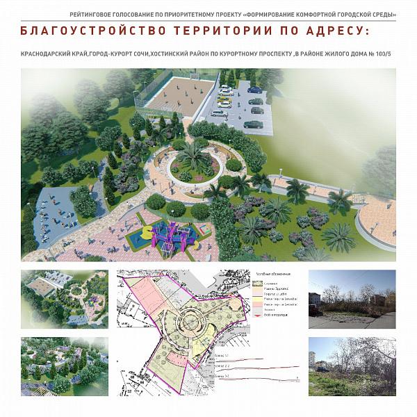 Второй этап реконструкции набережной реки Мацеста