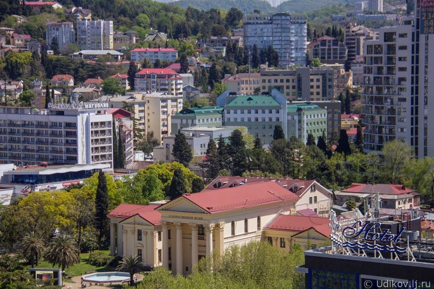 Проект внесения изменений в Правила землепользования и застройки на территории города Сочи