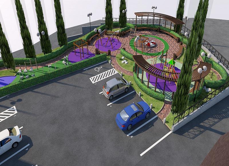 Разработаны проекты для благоустройства восьми общественных пространств в Сочи