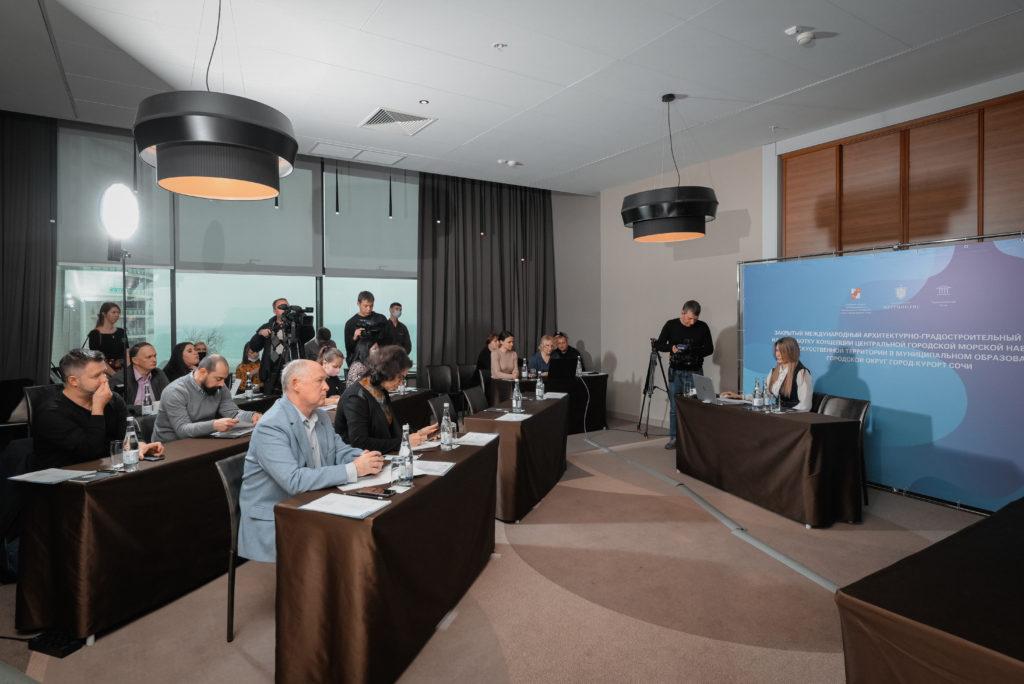 В Сочи состоялся брифинг международного конкурса на создание центральной набережной