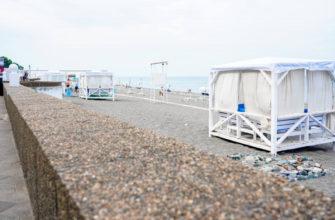 33 пляжа в Сочи получили сертификат о чистоте берега и прибрежных вод