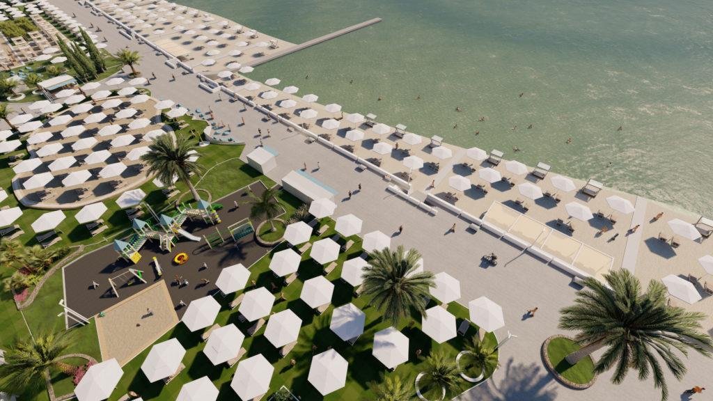 """Реконструкция пляжа """"Маяк"""": что сделано на сегодняшний день"""