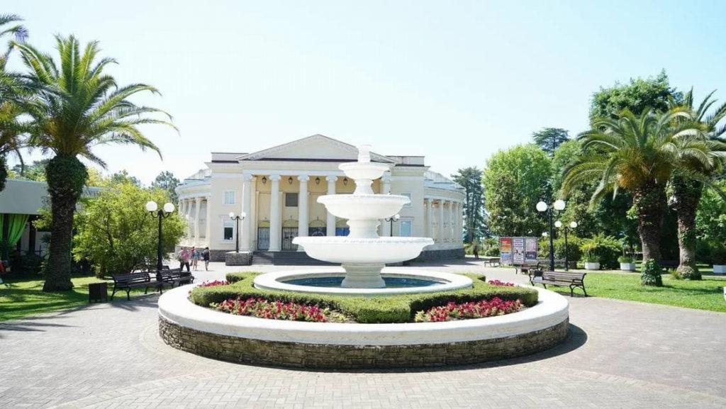 В Сочи проведут реконструкцию парка имени Фрунзе