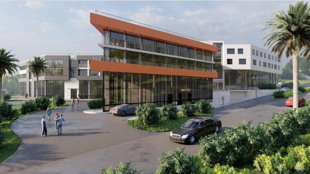 Предпроекты торгового центра и гостиниц