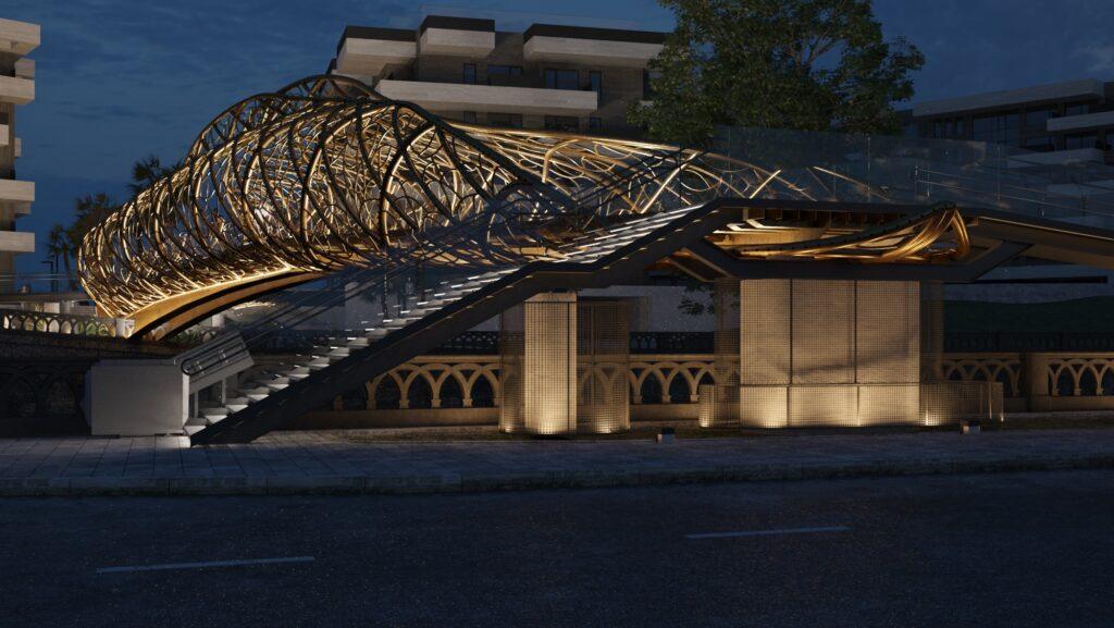 Проект пешеходного моста через реку Сочи победил на международном конкурсе «Сила металла»