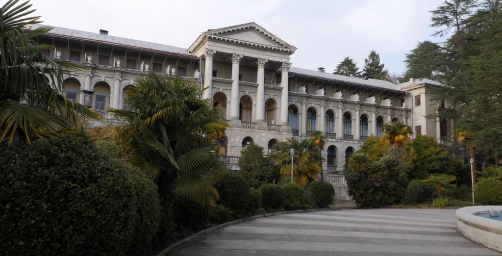 Санаторий Орджоникидзе в Сочи закрыли на реконструкцию