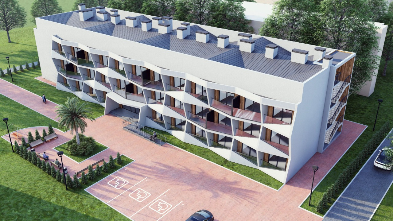 Проекты двух гостиниц и магазина
