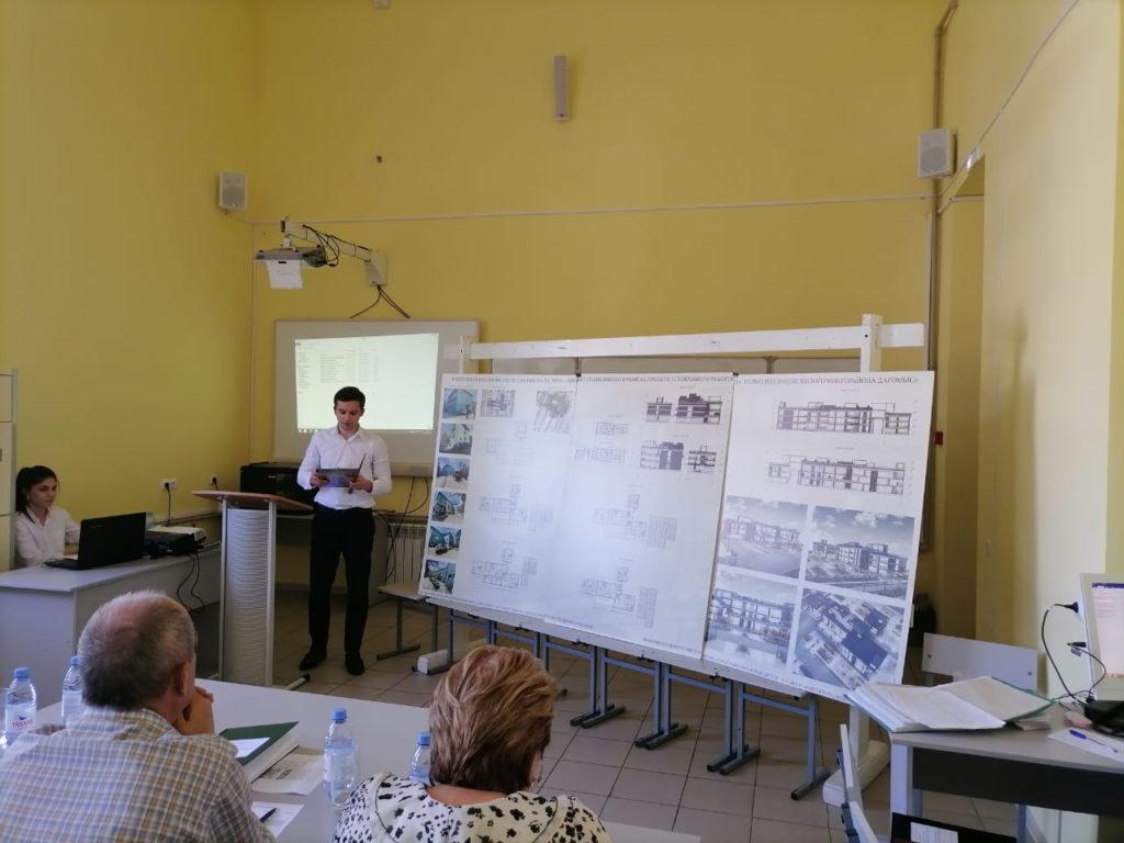 В СГУ состоялась защита выпускных квалификационных работ будущих архитекторов