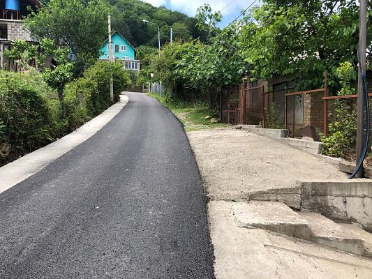 В Сочи завершился ремонт 29 сельских дорог