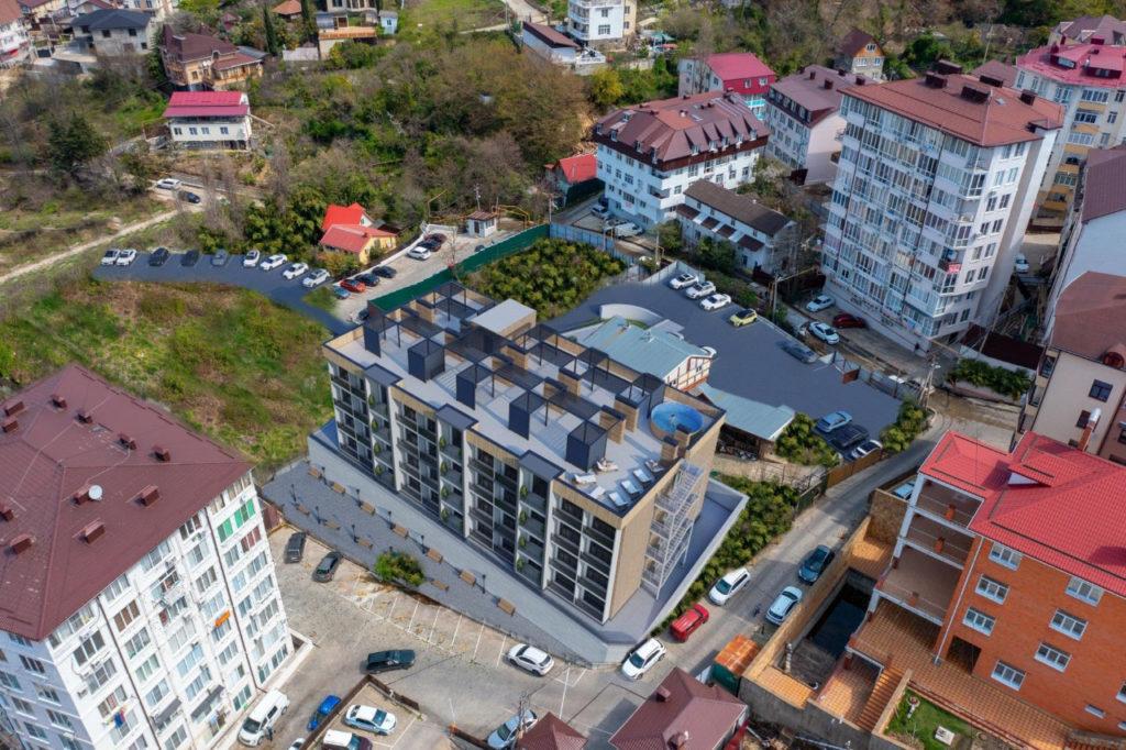 На Градостроительном совете рассмотрели проекты 2 х гостиниц и магазина в Хостинском районе
