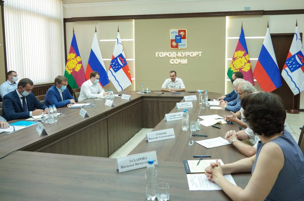 На Градостроительном совете с участием губернатора Кубани Вениамина Кондратьева подписали договор на выполнение работ по подготовке проекта Генплана курорта