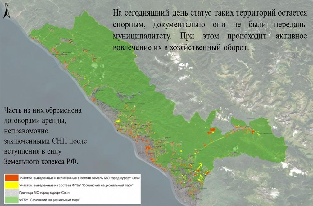 Мониторинг состояния Сочинского национального парка