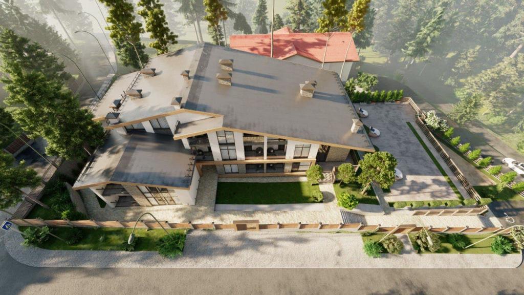 Проект гостиницы в селе Эсто Садок