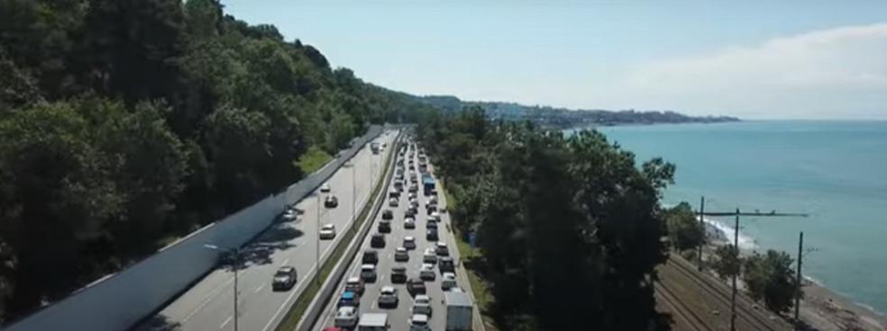 В 2022 году в Сочи начнется проектирование новой автотрассы