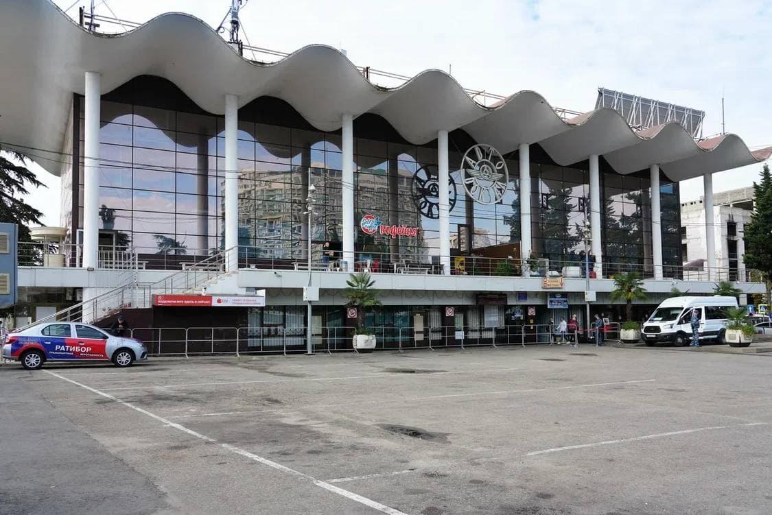 В Сочи планируют благоустроить здание автовокзала