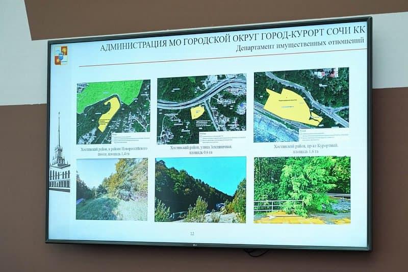В Сочи продолжается инвентаризация земельных участков