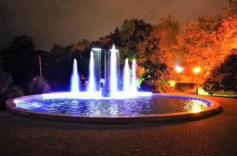 В Сочи реконструировали фонтан «Два якоря» в Комсомольском сквере